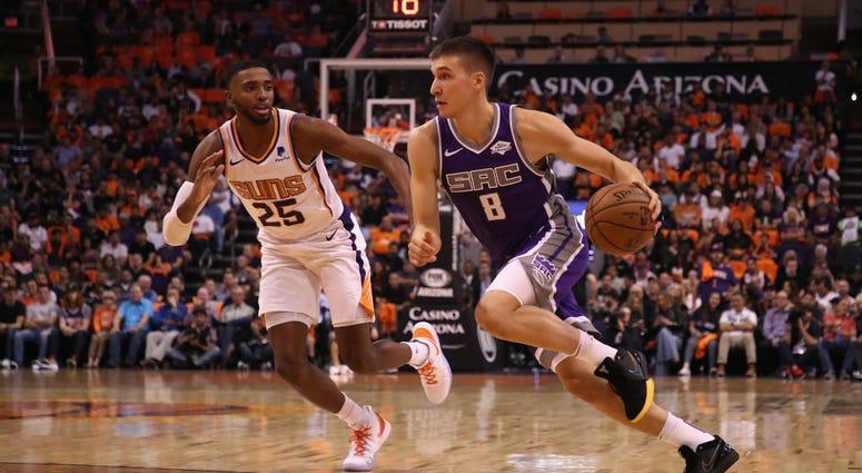 Kings v Suns