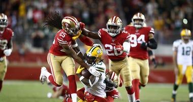 49ers crush Packers