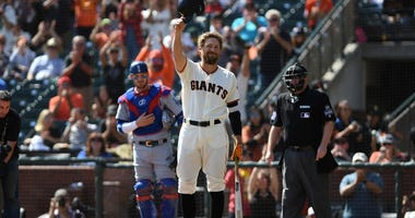 Hunter Pence retires from MLB after 14 seasons