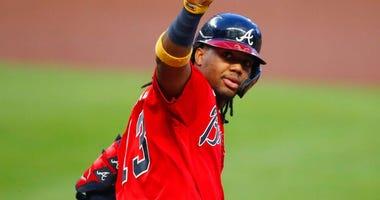 Watch: Ronald Acuna blasts home run nearly 500 feet