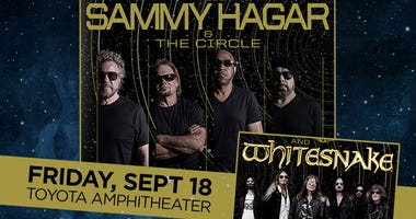 Sammy Hagar at Toyota Amphitheater