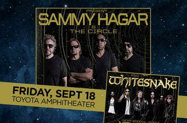 Sammy Hagar at Toyota Amphitheater
