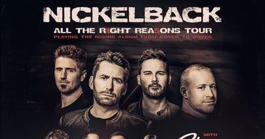 Nickelback at Toyota Amphitheatre