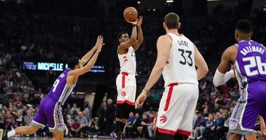 Kyle Lowry Against Sacramento Kings