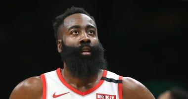 James Harden Joins Rockets in Orlando for NBA Restart