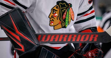 Blackhawks Stand By Team Name, Logo
