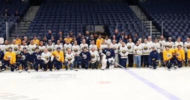 Sabres' fathers enjoying their time with their sons