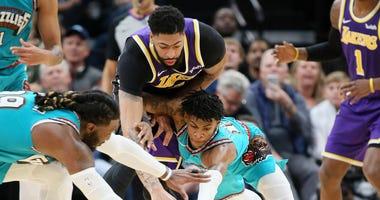 Morant / Grizz vs. Lakers