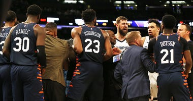 Grizzlies Knicks altercation
