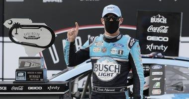 NASCAR Harvick return to racing