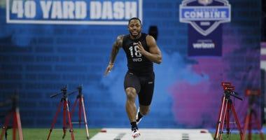 Antonio Gibson 2020 NFL Combine