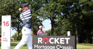 Bryson DeChambeau wins Rocket Mortgage Classic by 3 shots