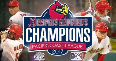 Memphis Redbirds win the 2017 PCL Championship