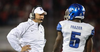 Justin Fuente today at noon live on 92.9FM