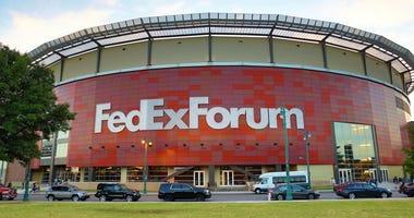 FedExForum/Grizzlies in Memphis