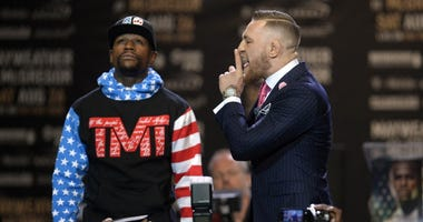 Mayweather vs. McGregor World Press Tour