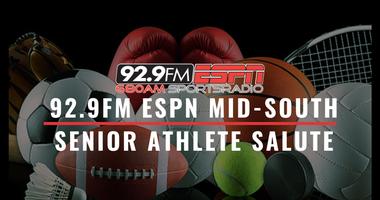 92.9 FM ESPN Senior Athlete Salute