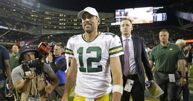 aaron rodgers bears win packers