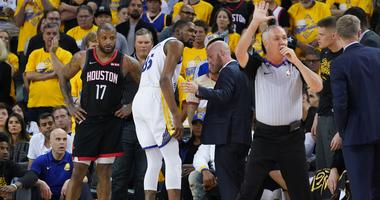 Durant/Warriors/injury
