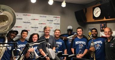 Mighty Sound of the South on Geoff Calkins Show