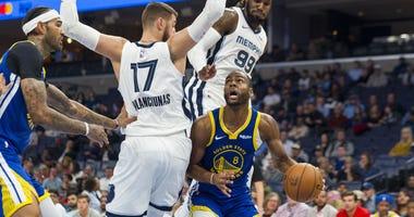 Grizzlies vs. Warriors 11 19 19