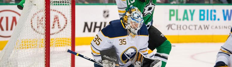 Sabres look to continue their winning ways in Dallas