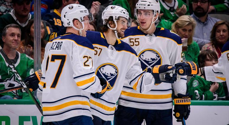 Sabres defeat the Stars, 4-1