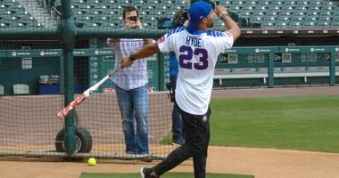 Bills' Hyde can't wait for his charity softball game in June