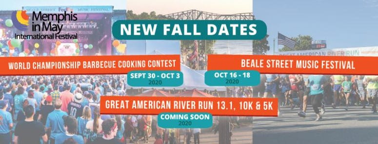 Beale St. Music Festival October Dates