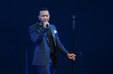 John Legend performs in 2017