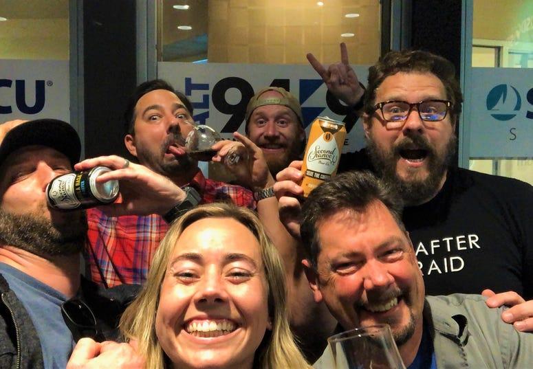Second Chancers rockin' the airwaves