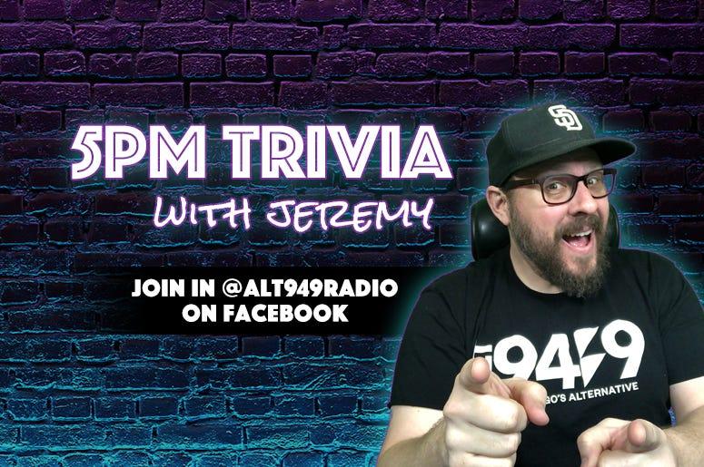 5PM Trivia with Jeremy
