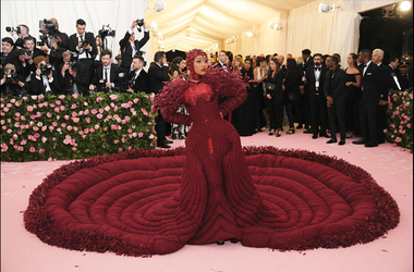 Cardi B attends The 2019 Met Gala Celebrating Camp: Notes on Fashion at Metropolitan Museum of Art on May 06, 2019 in New York City. (Photo by Neilson Barnard/Getty Images)