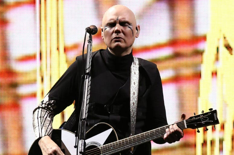 Billy Corgan of The Smashing Pumpkins performs in concert at Madison Square Garden