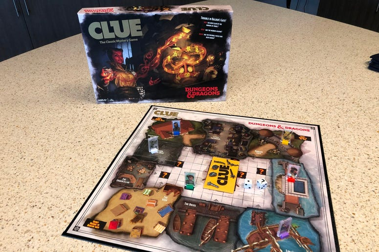 Casual Gamers D&D CLUE