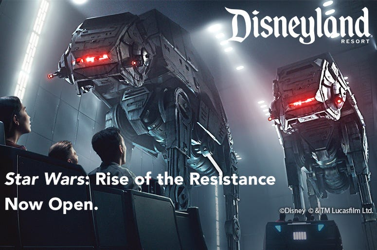 Disney Star Wars Rise of the Resistance