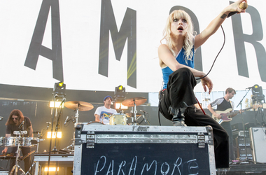 Hayley Williams of Paramore during KROQ Weenie Roast