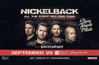 Nickelback with Stone Temple Pilots and Switchfoot