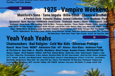 PICK YOUR FANTASY COACHELLA LINEUP NOW!!