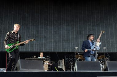 Wilco performs onstage during day 2 of the 2013 Bonnaroo Music & Arts Festival
