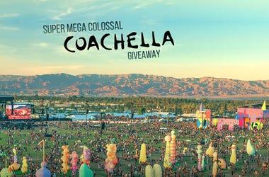 Super Mega Colossal Coachella Giveaway