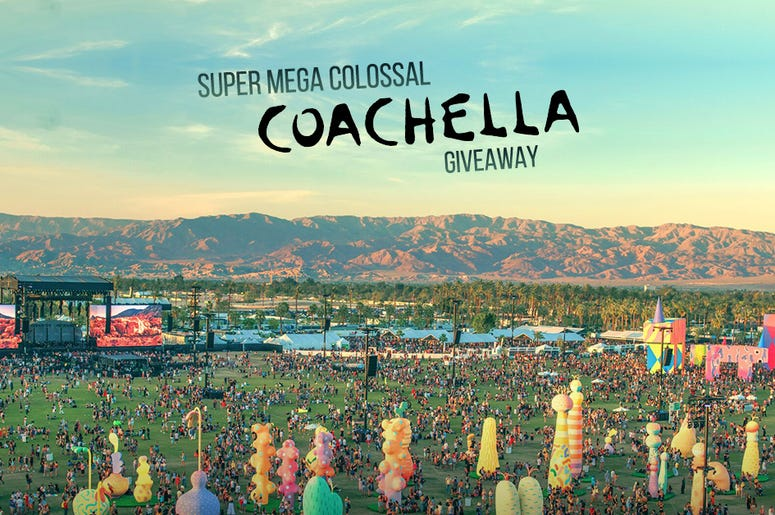 Super Mega Colossal Coachella Giveaway