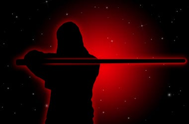 star wars lightsaber outline