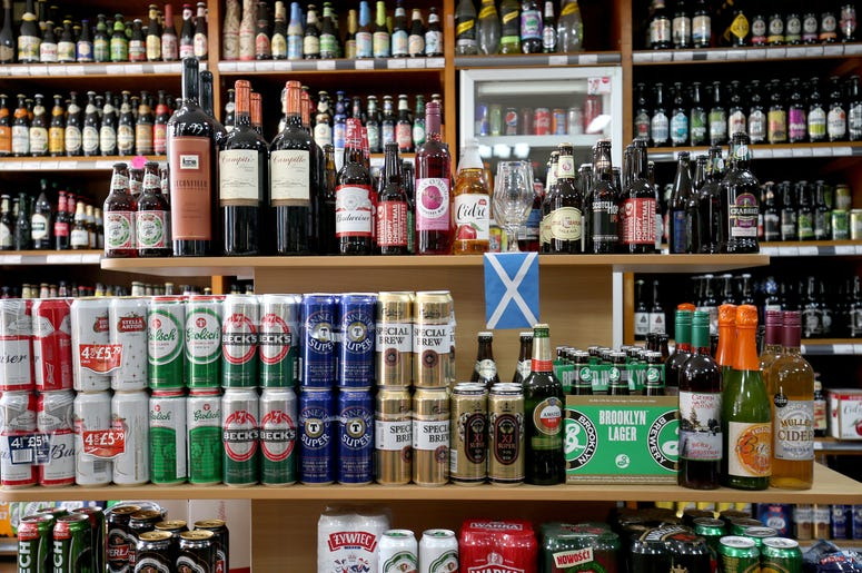 Minimum alcohol pricing
