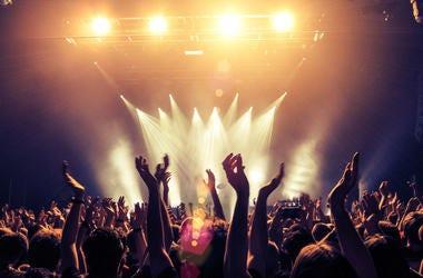 Concert Crowd Photo