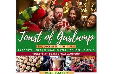 Toast of Gaslamp Photo