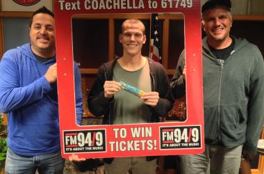 Coachella Winner Andrew