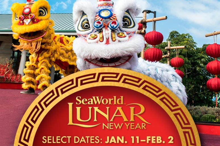 Image result for SeaWorld's Lunar New Year Celebration