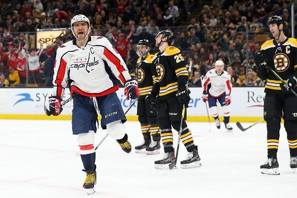 Caps Bruins