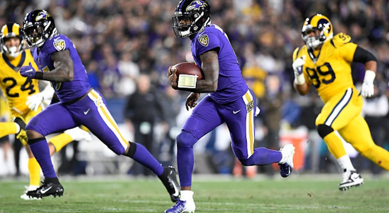 Ravens vs Rams